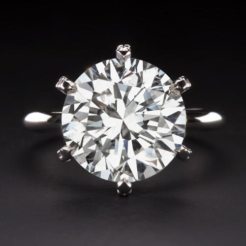 6d7bc6333 6.05 CT CERTIFIED F SI2 NATURAL DIAMOND ENGAGEM.